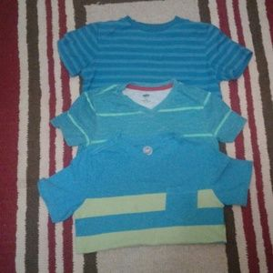 Short sleeve cotton boys shirts
